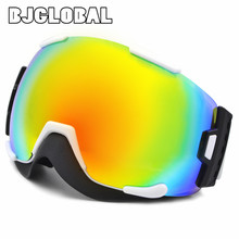 New Ski Eyewear Snow Cycling Goggles Dustproof Anti Fog Skiing Sunglasses Windproof UV400 Protection Outdoor Sports Lens