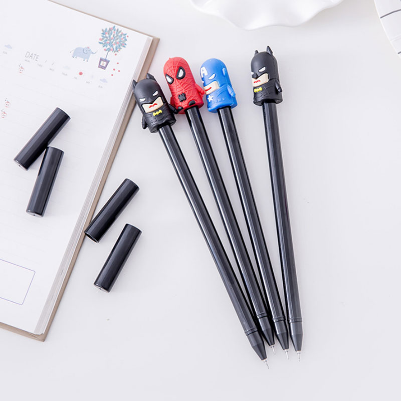 3 Pcs/lot Cute 3D Cartoon Figures Gel Pens Kawaii Stationery Caneta Material Escolar Office School Supplies Papelaria Kids Gifts carburetor carb for nissan a12 cherry pulsar vanette truck datsun sunny b210 pulsar truck 16010 h1602 16010h1602 16010 h1602