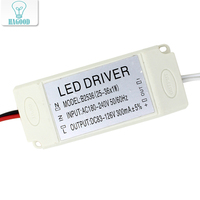 25 To 36W Plastic Shell Led Lamp DIY LED Light Driver Transformer Power Supply Adapter Input