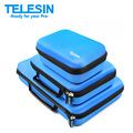 TELESIN  GoPro Camera Storage Bag Set Carry Case Protective EVA Box for Go Pro Hero 5 4 3  2 1, SJ4000 SJ5000 Xiaoyi Accessories