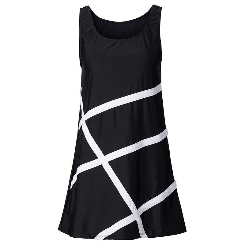 Summer Women Dress White Black Casual Party Dresses Sleeveless Loose