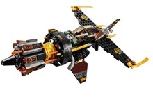 BELA 234pcs Ninagoes Phantom Ninja Turtles Minifigure Building Blocks Brick Boulder Blaster Chariot Enlighten Educational Toys