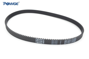Image 2 - POWGE HTD 3M Timing belt C= 420 423 426 432 width 6/9/15mm Teeth 140 141 142 144 HTD3M synchronous 420 3M 423 3M 426 3M 432 3M