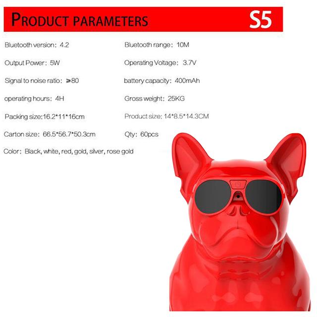 Altavoz Bluetooth  Portatil Bulldog Inalámbricos  Aerobull MP3