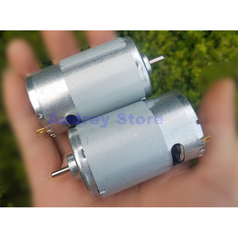New 6V-24V 555 DC Motor 1800rpm 3600rpm Medium and Low Speed Large Torque for Toy model ship