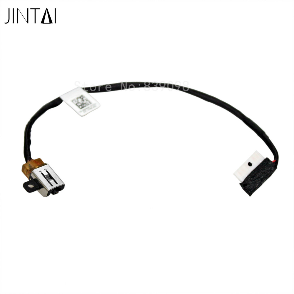 Jintai DC POWER JACK HARNESS CABLE FOR Dell Inspiron 15 5000 5565 5567 I5567-1836GRY I5567-4563GRY BAL30 DC30100YN00 for dell for inspiron 15 6 15 5567 5768 5767 5565 power button board w cable nbx0001yy00 ls d802p