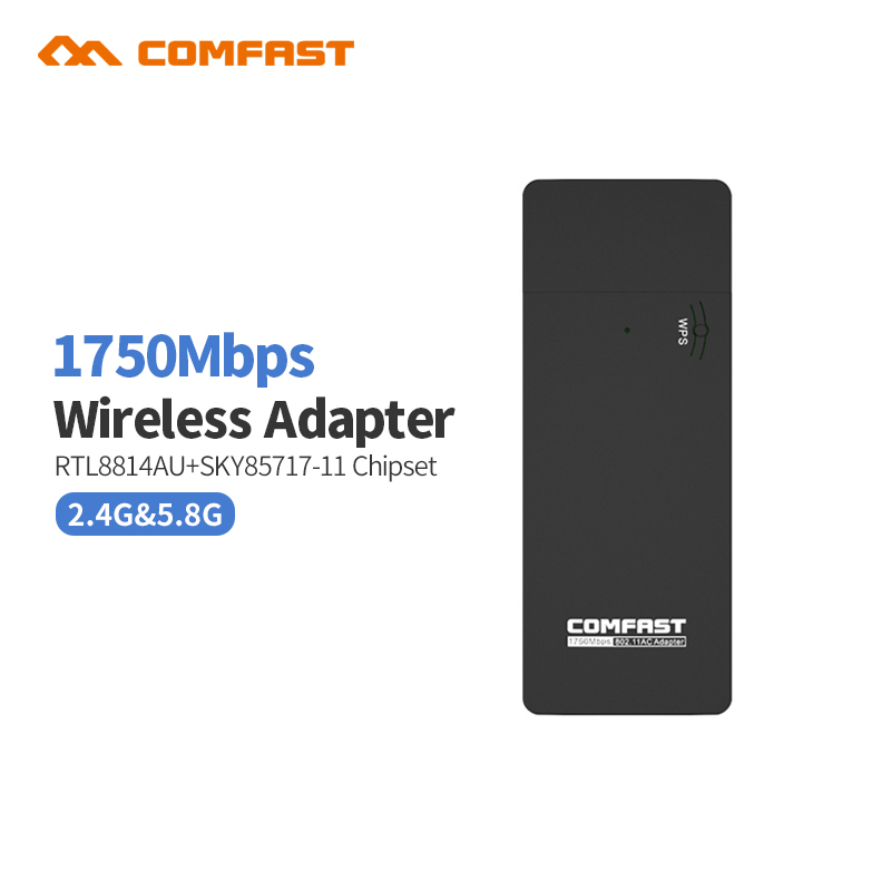 Comfast CF 917AC 1750Mbps Dual Band 11AC Wireless N 2 4G 5 8G USB wi fi