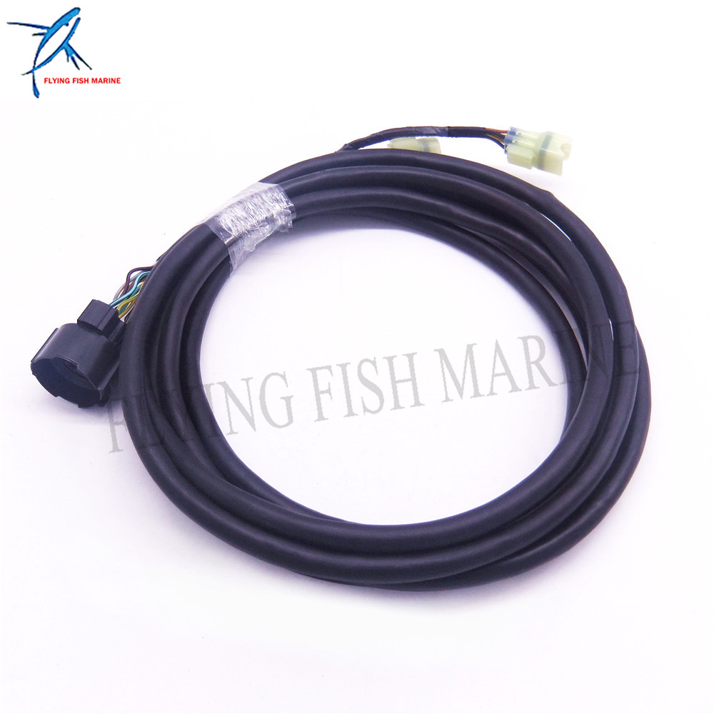 small resolution of outboard engine 32580 zw1 v01 cable switch panel main wire harness for honda outboard