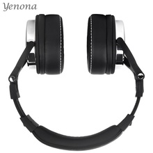 Yenona Studio Pro Professional DJ Headphone with Microphone Over Ear Wired Headphone Monitor Studio Headphones Stereo Headset