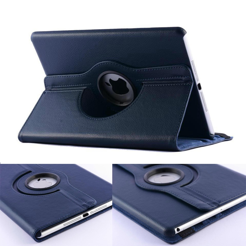 2016 New Arrivals case for Apple ipad air 2 / ipad 6 lichee grain 360 degree rotate Full Body Protective Cover Flip shell coque чехол для планшета for apple ipad air 2 ipad 6 360 apple ipad 2 ipad 6 ipa6 016
