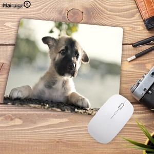 Image 2 - Mairuige Promotion Russia Cute Dog Small Mouse Pad Office Creativity Mouse Mat Gaming Mouse Pad 220X180X2MM Computer Mousepad