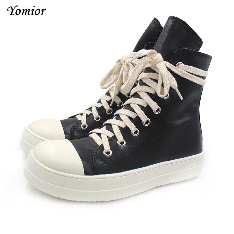 Здесь продается  Yomior Handmade Women Winter Military High Boots Top Quality Street Motorcycle Shoes Platform Sexy Justin Bieber Female Boots  Обувь