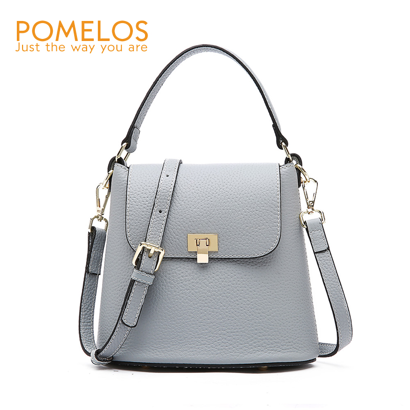 c1187cf6a3 POMELOS Luxury Handbags Women Bags Designer Genuine Leather Fashion Tote  Crossbody Bags for Women Small Bucket Beach Bag Ladies-in Top-Handle Bags  from ...