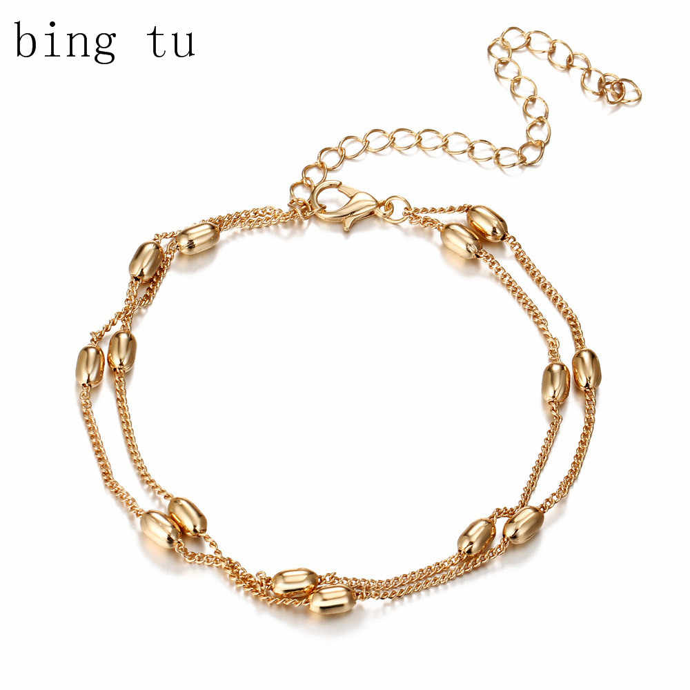 Bing Tu Women Layered Charm Bracelets