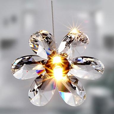 Luminaire Luster De Cristal Kristal Çiçək şəklində LED Müasir - Daxili işıqlandırma - Fotoqrafiya 2