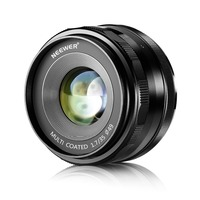 Neewer 35mm f/1.7 Manual Focus Prime Fixed Lens for SONY E Mount Digital Cameras Such as NEX3, 3N, 5, 5T,A6000, A6100 and A6300