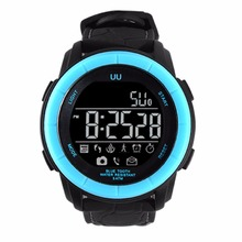 UU smart watch bluetooth 4.0 Heart Rate Monitor Wearable Devices Wristwatch smartwatch for smartphone Fitness Tracker Reminder