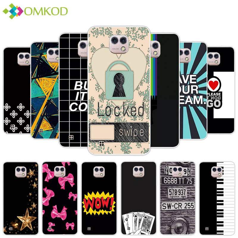 Fundas For LG X Cam K580 K580DS Silicone Cases Slim Soft TPU Fashion Case 5.2 inch For LG X Cam K580 Phone Dark Color Back Cover