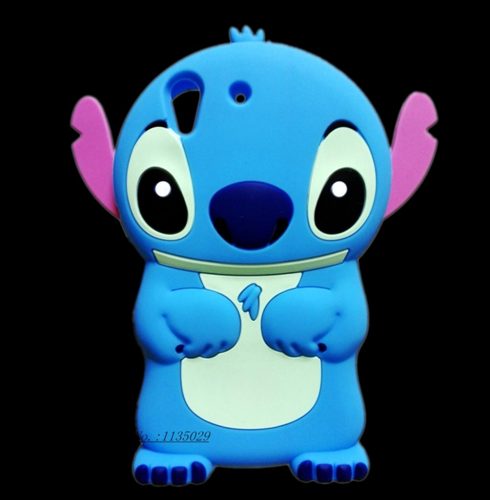 83e6eb523151d Huawei Y6 II Cover 3D Cartoon Stitch Soft Rubber Silicon Case For ...