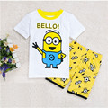 New Summer style children baby boys clothing sets cotton Vest t shirt+shorts kids clothes tracksuits 2pcs/set Fit children dx13