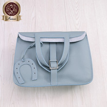 Italy Calfskin Halzan luxury handbags women bags famous designer bag in Tago leather