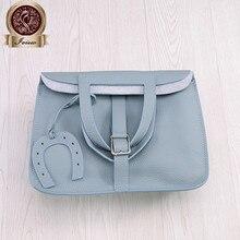 Italy Calfskin women's handbag  luxury handbags women bags famous designer bag branded in Tago leather