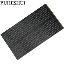 BUHESHUI 1W 5V 200MA Solar Cell Module Monocrystalline PET Solar Panel DIY
