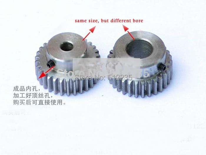 все цены на  Spur Gear pinion 1.5M 20T 1.5 mod gear rack 20 teeth bore 6/6.35/8/10/12/15 mm 45 steel cnc rack and pinion  онлайн