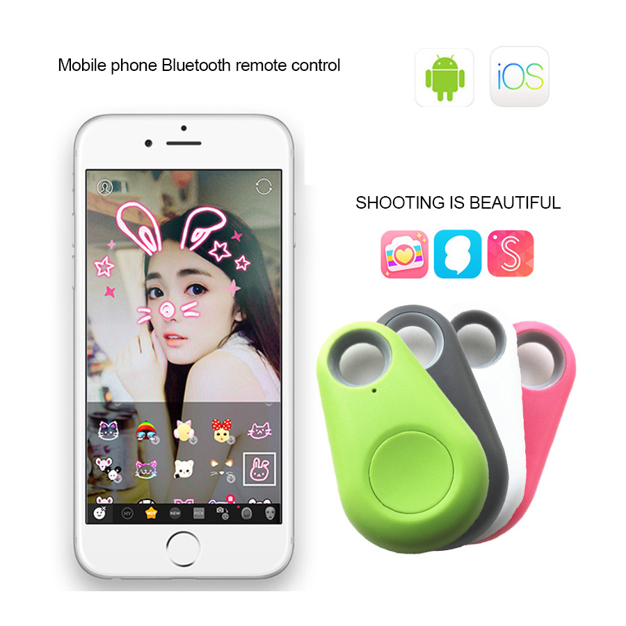 5Styles Bluetooth Remote Control For IOS Android Control Shutter Camera Phone Take Photo Portable Mini Wireless Remote Control