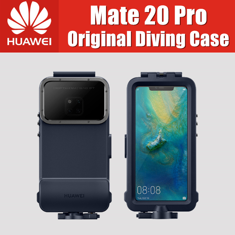 Huawei Mate 20 Pro Snorkeling Case Official 100 Original Waterproof Case Swimming Protective Cover Mate20 Pro