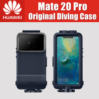 Official Original Huawei Mate 20 Pro Case Waterproof Case Swimming Snorkeling Protective Cover Mate20 Pro Diving case