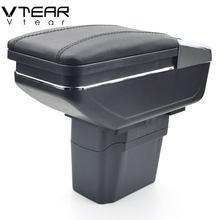 Vtear-reposabrazos para Chevrolet Cruze, caja de almacenamiento de contenido de tienda central, portavasos, Cenicero interior, accesorios de estilismo para coche