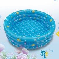 Kinder Heimgebrauch Drei Schichten Aufblasbare Runde Schwimmbecken Ozean Ball Pool Kinder Planschbecken Sicherheit Tragbare Swimming Pool