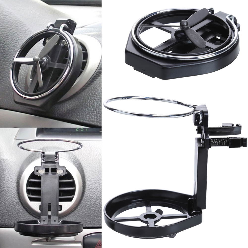 VODOOL 1 Pcs Useful Car Air Outlet Drink Holder Car Cup Holder Car Drink Holder Water Cup Beverage Mount With Small Fan