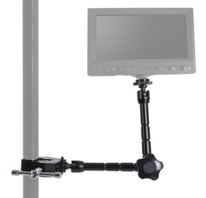 Image 5 - 11 inch Adjustable Magic Articulated Arm Super Clamp for Mounting HDMI Monitor LED Light LCD Video Camera Flash Camera DSLR