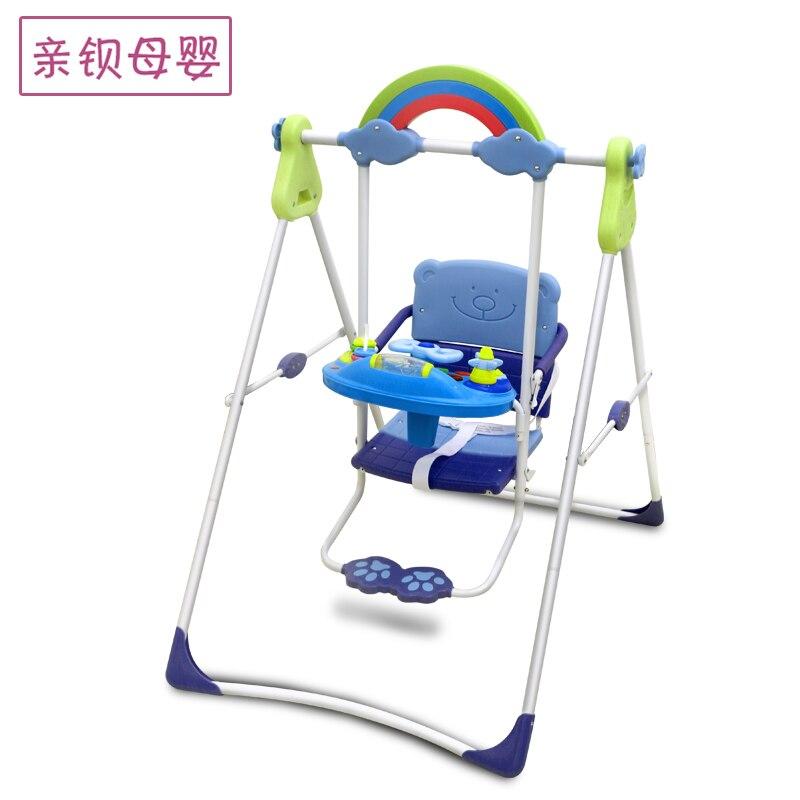 Balançoire enfant pliante bébé jouet balancelle enfant chaise à bascule enfant balancelle enfant entrée et sortie de la maison