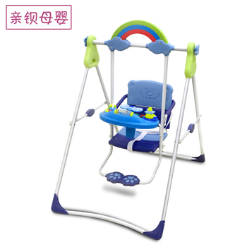 Children's swing folding baby toy swing children's rocking chair children's swing chair in and out of the house фото