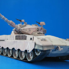 PR версия Merkava Mark II Merkava Танк 3D бумажная модель сделай сам
