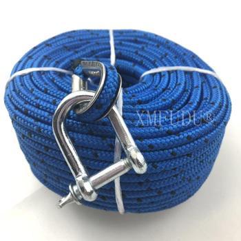 Łódź morska odpowiednia lina kotwiąca TRAC Premium do wszystkich wciągarek elektrycznych 100 '(30 m) x 3 16 #8222 (5mm) tanie i dobre opinie XMFUDU For anchor Nylon