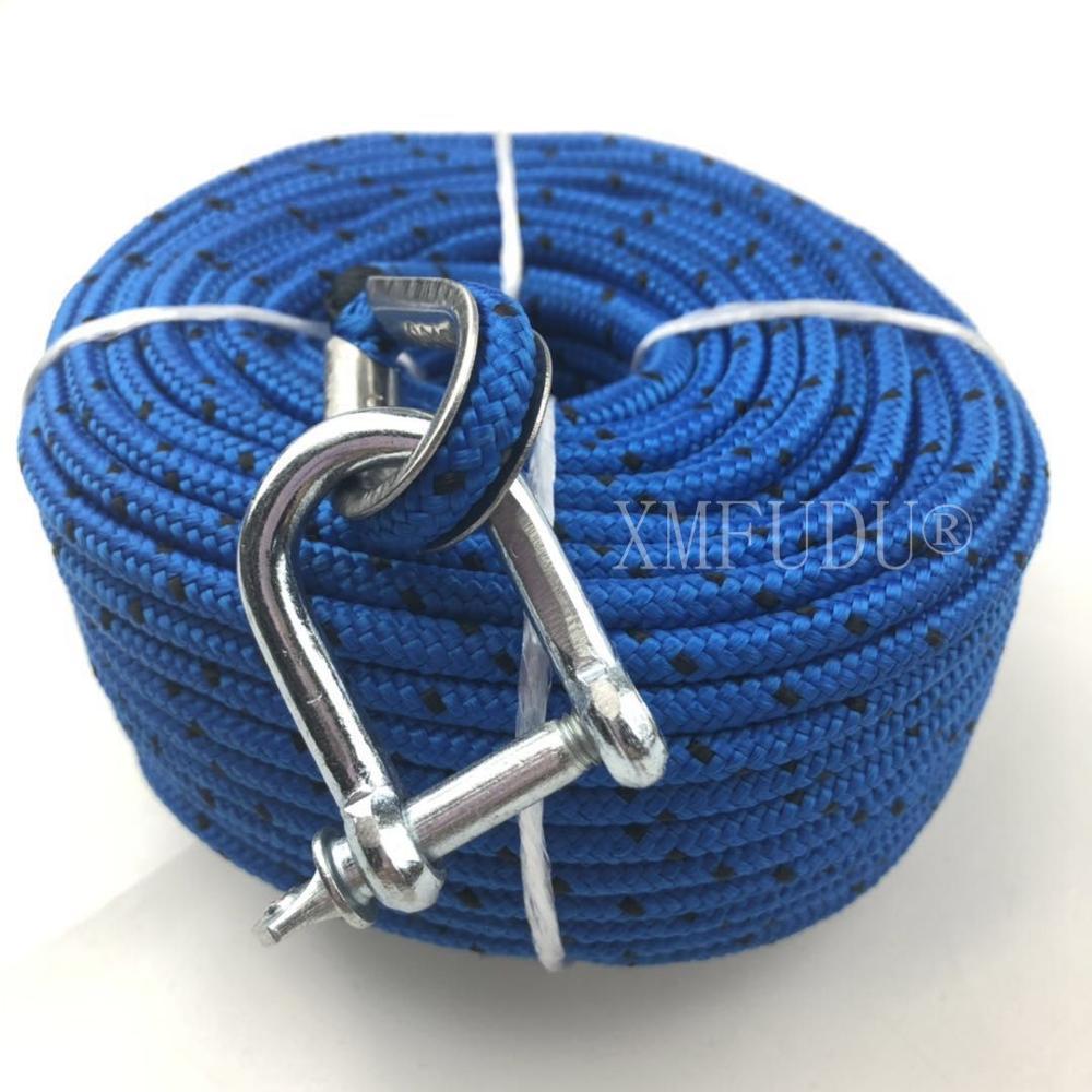 Barco marino adecuado TRAC cuerda de anclaje Premium para todos los cabrestantes eléctricos 100 '(30 m) x 3/16