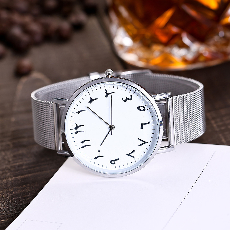 CCQ Casual Women Watches Quartz Wrist Watch Arabic Numerals Dial Stainless Steel Band Simple Style Alloy Clock Horloges 2018 B40