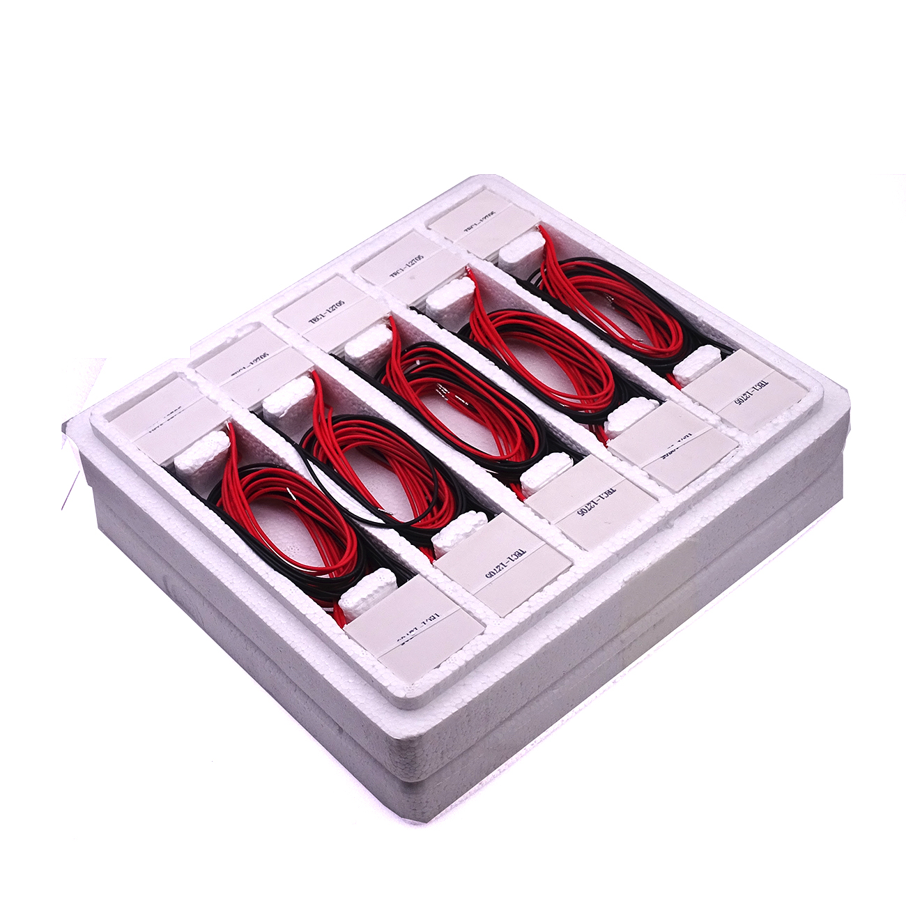 60pcs 100% New the cheapest price TEC1 12705 TEC  12705 42.5W 15.4V 5A TEC Thermoelectric Cooler Peltier (TEC1 12705)(one box)-in Integrated Circuits from Electronic Components & Supplies