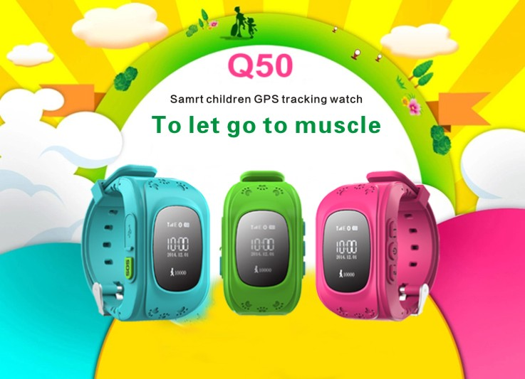 MOCRUX Kids Watches Q50 SOS Call GSM GPRS GPS Smart Baby Watch Track Watch Location Tracker Smart Watch for Child Boys Girls (1)