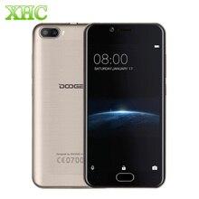 Оригинал doogee стрелять 2 1 ГБ 8 ГБ двойной камеры заднего 3 г Отпечатков Пальцев id 5.0 дюймов Android 7.0 MTK6580A WCDMA Quad Core смартфон