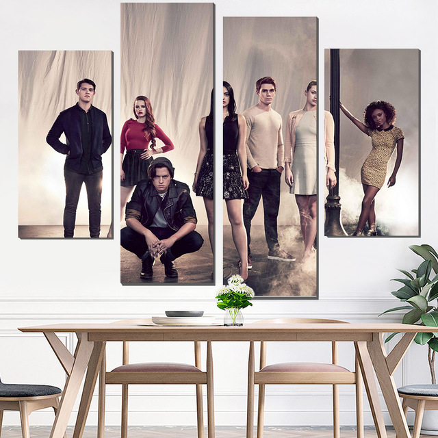 painting canvas riverdale canvas poster poster painting photo print ...