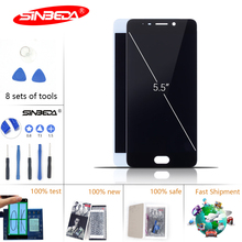 5.5Sinbeda IPS For Meizu M5 NOTE LCD Display Touch Screen with Frame For MEIZU M5 Note Display M621H M621M M621Q LCD Display goowiiz белый кот meizu m5 note