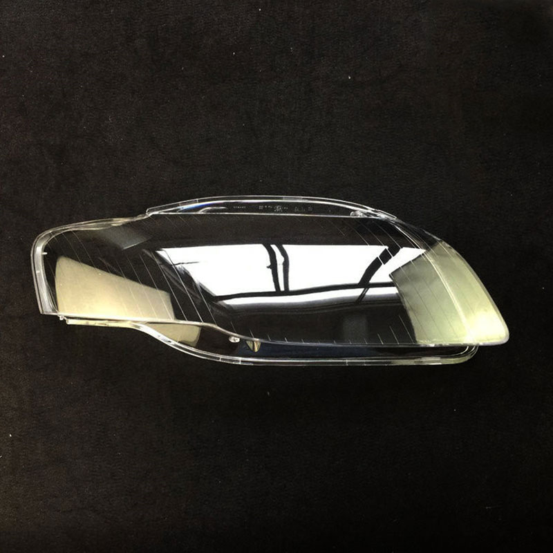 Front headlights headlights glass mask lamp cover transparent shell lamp masks For Audi A4 B7 2006
