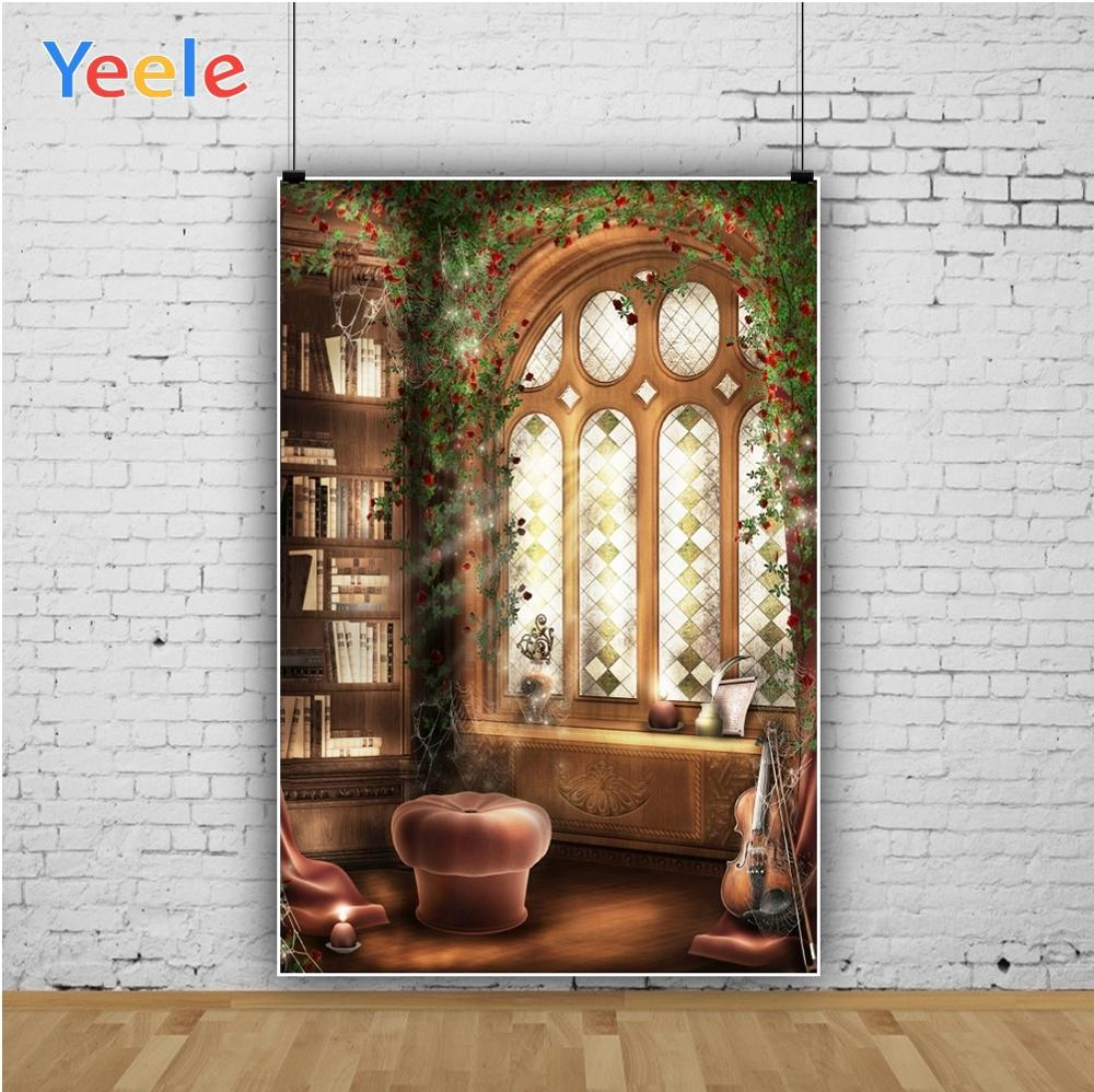 Yeele Professional Camera Photography Backdrops Palace Landscape Interior Child Retro Photographic Backgrounds For Photo Studio in Background from Consumer Electronics