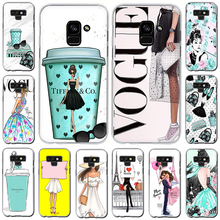 Get more info on the VOGUE Queen Princess Girl Hard Phone Cover Case For Samsung Galaxy A3 A5 2016 2017 A7 A8 A9 2018 A 10 30 40 50 70