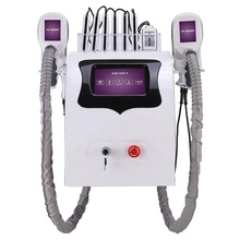 5 in one Professional weight loss cavitation rf fat frozen  lipo laser/ cryo body slimming machine